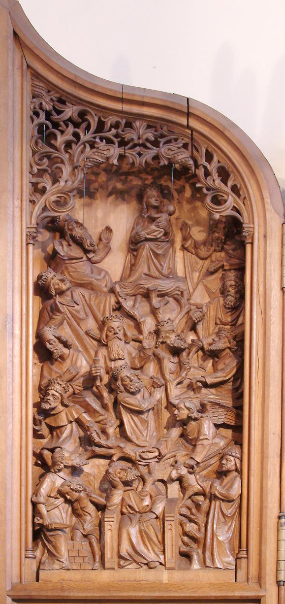 Mariaaltaar - Stamboom Christus
