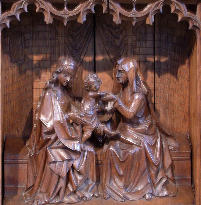 Mariaaltaar - Maria, Anna en kind