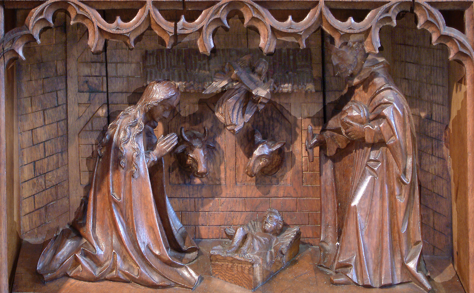 Marialtaar - Kerstgroep